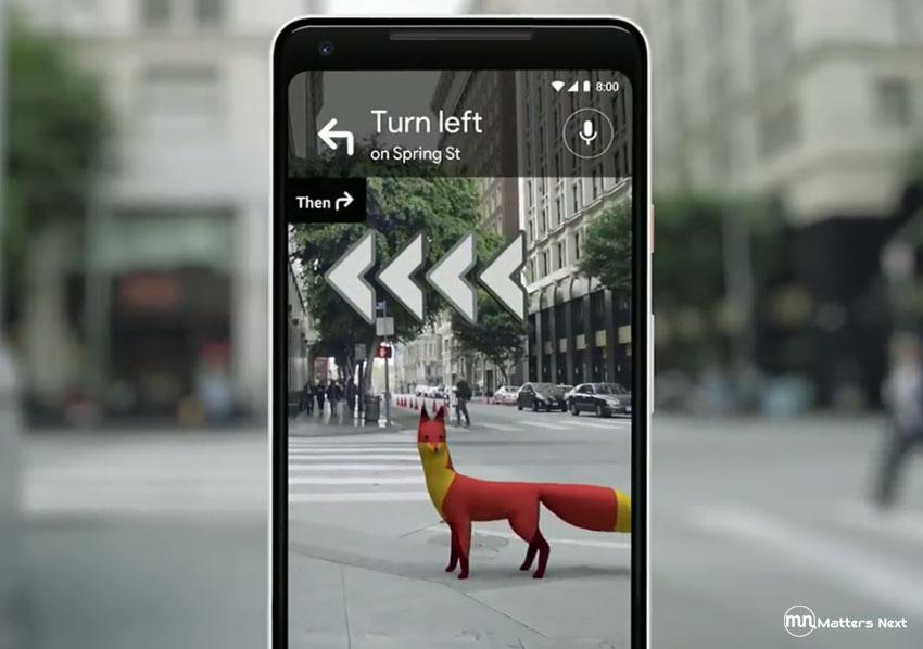 google-map-walking-navigation