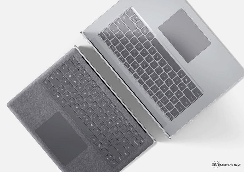 minimal design surface laptop 3